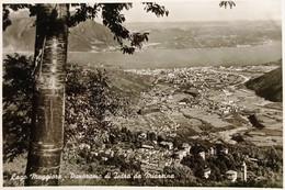 Cartolina - Lago Maggiore - Panorama Di Intra Da Miazzina - 1958 - Verbania