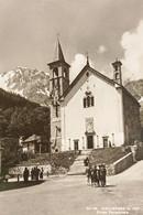 Cartolina - Macugnaga - Chiesa Parrocchiale - 1955 Ca. - Verbania