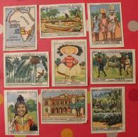 Lot 9 Images Chocolat Pupier. Album Afrique 1950. Colonies Portugaises Angola Mozambique Cabinda Lourenço-marquez Guinée - Andere