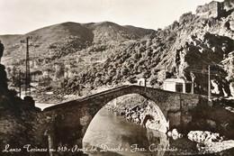 Cartolina - Lanzo Torinese - Ponte Del Diavolo E Frazione Colombaio - 1965 - Sin Clasificación