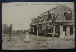 CP. 3807. Linselles, Pouponnière Lorthiois Rue Du Maréchal Pétain - Sonstige Gemeinden