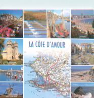 CPSM La Côte D'Amour-Multivues   L769 - Sin Clasificación