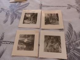 P-359 , Lot De 4 Photos ,  La Villa Jane à Capbreton, 1964 - Lieux