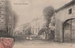 W2-63) LES ENVIRONS DE CLERMONT FERRAND - LE FONT DE L' ARBRE - ROUTE DE CLERMONT AU PUY DE DOME - ( ANIMATION ) - Other Municipalities