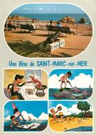 CPSM Une Bise De Saint Marc Sur Mer-Multivues   L769 - Other Municipalities