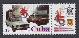 CUBA 2004. ANIVERSARIO POLICÍA NACIONAL. MNH. EDIFIL 4751 - Nuevos