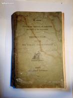 Archive Postale La Poste PTT 1914 N°500-35 Instruction à L'usage Des Bureaux Télégraphiques SANS CORRECTIONS - Documents Of Postal Services