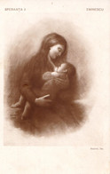SCÈNE D' ALLAITEMENT MATERNEL / BREASTFEEDING - EMINESCU : SPERANTA / ESPOIR / HOPE De L. SALMEN ~ 1910 - RRR ! (ah758) - Other
