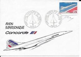 1976 Vol Paris Rio Signé Du Graveur - 1960-.... Covers & Documents