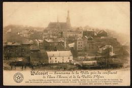 Walcourt - Panorama De La Ville Pris Du Confluent De L'Eau D'Heure Et De La Vallée D'Yves - Voir Scans - Walcourt