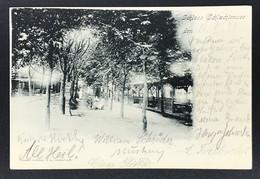 AK Berlin Zehlendorf Schloss Schlachtensee - Gelaufen Bahnsteigbriefkasten 1899 - Ohne Zuordnung