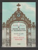 Carnet Croix-Rouge 1968 - Croce Rossa