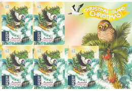 2018 Christmas Island Christmas Noel  Birds Owl Booklet MNH @ Below Face Value - Christmas Island