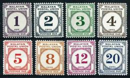 Federación Malasia (Británica) Nº Tasa-15A/19A Nuevo* - Federated Malay States