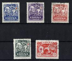 ESPAÑA 993/7 En Usado. Cat.20 € - 1931-50 Gebraucht
