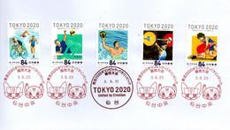 Tokyo 2020 Triathlon Volley Water Polo  Haltérophilie Lutte - Other