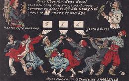 La Classe Barka Chouiba Bono Besef Zouaves , Spahi, Singe Canebiere Marseille Vers Crolles - 2 Scans - Humour