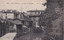 A9-52) SAINT DIZIER - LE CANAL DES MOULINS - ( 2 SCANS ) - Saint Dizier