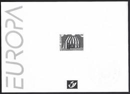 Feuillet Noir & Blanc  Europa 2002, Le Cirque - Zwarte/witte Blaadjes