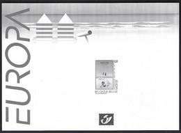 Feuillet Noir & Blanc  Europa 2003, Art De L'affiche - Zwarte/witte Blaadjes