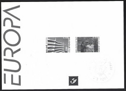 Feuillet Noir & Blanc  Europa 2004, Vacances - Zwarte/witte Blaadjes