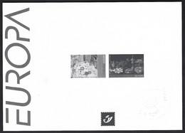 Feuillet Noir & Blanc  Europa 2005, Peintures Gastronomiques - Zwarte/witte Blaadjes