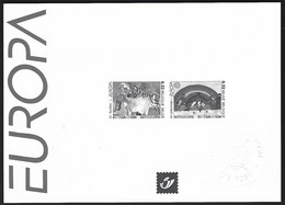 Feuillet Noir & Blanc  Europa 2006, Integration - Zwarte/witte Blaadjes