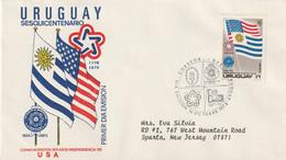 Uruguay Old FDC - Uruguay