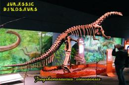 Carte Postale, Animaux Prehistoriques, Jurassic Dinosaurs, Jingshanosaurus Xinwaensis - Andere