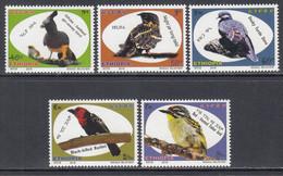 2018 Ethiopia Birds Oiseaux  Complete Set Of 5 MNH - Ethiopie