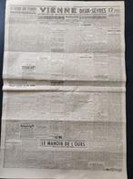 WW2 - 1940 - Vienne ( 86 ) - Deux Sèvres ( 79 ) - POITIERS - NIORT - MONTMORILLON - BRESSUIRE - Gouvernement PETAIN - Documenti Storici