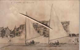 De Panne, La Panne, Les Chars à Voile, 2 Scans - Sailing