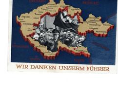 Propaganda Karte Deutsches Reich Mit Sonderstempel Reichenberg - Sin Clasificación
