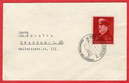 Brief Deutsches Reich Sonderstempel Obersalzberg Mit Sondermarke - Sin Clasificación
