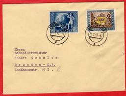 Orts - Brief Deutsches Reich Dresden Mit Sondermarken - Sin Clasificación