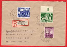 R - Brief Deutsches Reich Guteborn Mit Sondermarken - Sin Clasificación