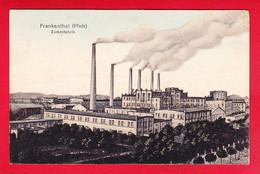 E-Allemagne-457P90 FRANKENTHAL, Zuckerfabrik, L'usine Sucrière, Cpa Colorisée - Frankenthal