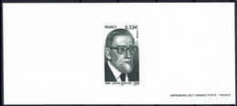 2005 Gravure Jacob Kaplan  Sur Papier Velin  - Grand Rabbin De France De 1955 à 1981 - Documents Of Postal Services