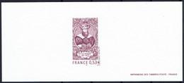 2005 Gravure Avicenne  Sur Papier Velin  - Medecin Et Philosophe - Documents Of Postal Services