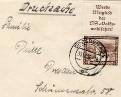 Drucksache Brief Deutsches Reich Mit Zusammendruck - Sin Clasificación