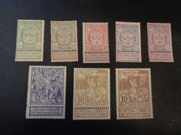 68-70 Kleuren - Couleurs 71-73 X MH - 1894-1896 Esposizioni