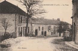 I15- 82) CAZES MONDENARD (TARN ET GARONNE) LA POSTE - (ANIMEE - 2 SCANS) - Other Municipalities