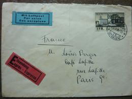 1938  Monument Du BIT   TBE - Covers & Documents