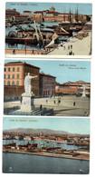 Italie -- LIVORNO   --- Lot De 5 Cartes Anciennes  ( Animées )...............à Saisir - Livorno