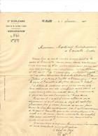 LE BLANC INDRE Cie D'ORLEANS CHEMIN DE FER DU BLANC A ARGENT 1904 - 1900 – 1949