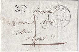 FRANCE 1836 LETTRE DE TOURS  AVEC  CORRESPONDANCE - 1801-1848: Precursors XIX