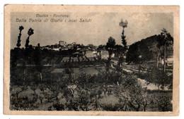Italie -- Près Florence--VICCHIO---1924-- Panorama ......timbre ...cachets.........à Saisir - Autres Villes