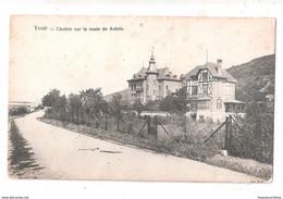 CPA Yvoir - Châlets Sur La Route De Anhée Unused - Yvoir