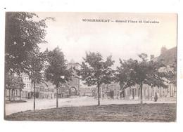 CPA NORD - 59 - WORMHOUDT Ou WORMHOUT - Grand Place Et Calvaire Unused - Wormhout