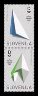 Slovenia 2021 Mih. 1483/84 Olympic Games In Tokyo MNH ** - Slovénie
